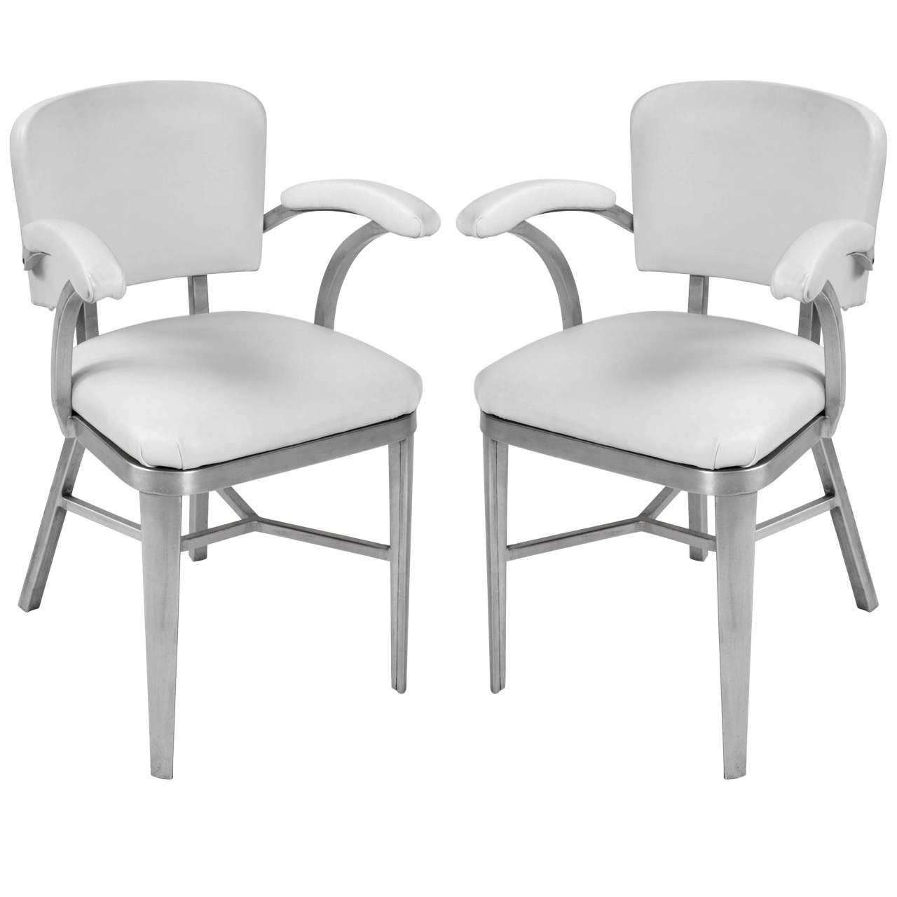 FRANCESCA BOLSI ANTIQUE & DESIGN Coppia di sedie con bracciolo in ...